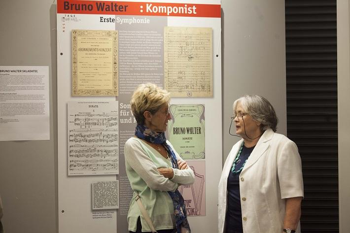 Vernisáž výstavy Bruno Walter a jeho doba, Rakúske kultúrne fórum, 2016, foto: Julia Tibenska