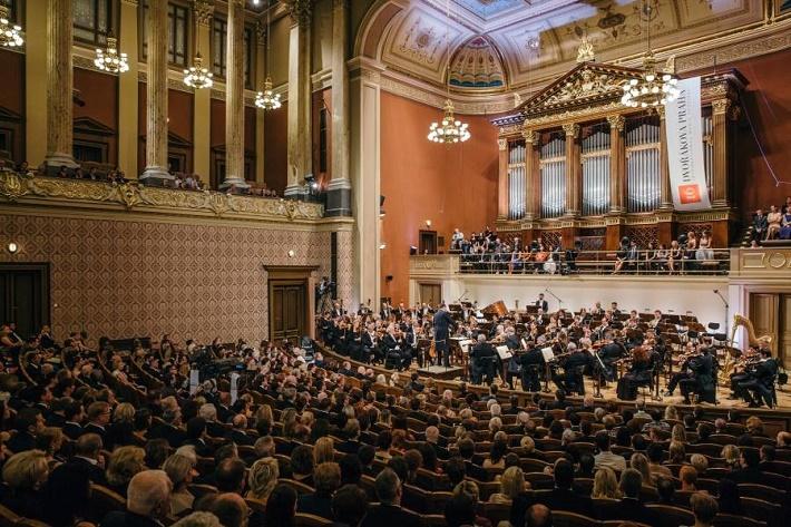 koncert Sächsische Staatskapelle Dresden v Prahe, 2016, foto: FB Sächsische Staatskapelle Dresden