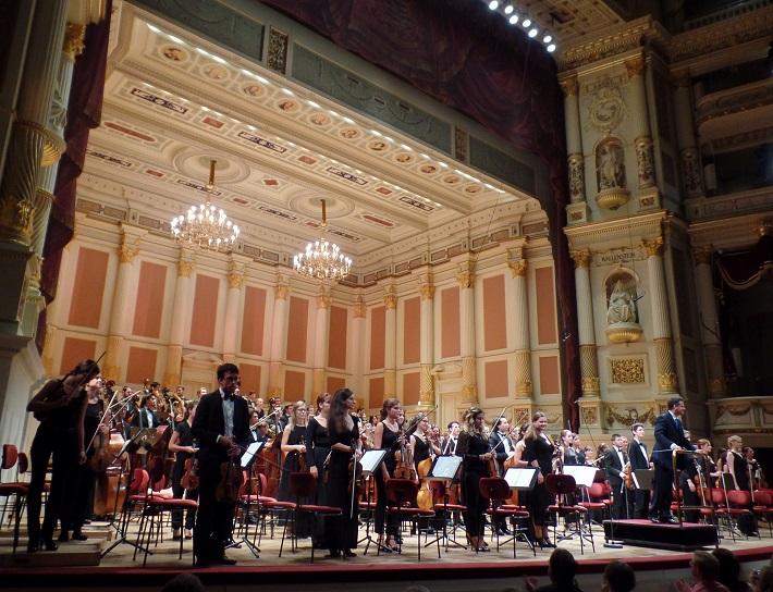 Koncert Mládežníckeho orchestra Gustava Mahlera, 2016, foto: Joachim Schindler