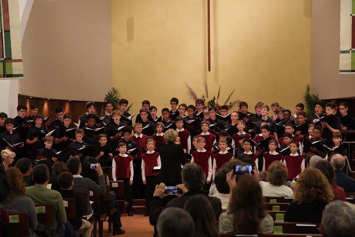 Bratislavský chlapčenský zbor v USA, 2016, Koncert v San Franciscu, foto: BChZ