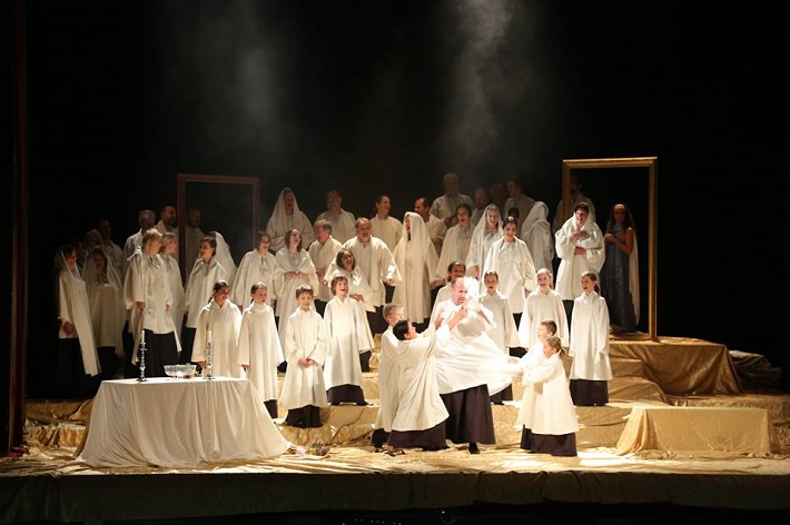 G. Puccini: Tosca, Štátna opera Banská Bystrica, 2016, foto: Jozef Lomnický