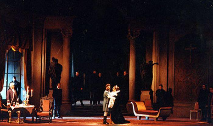 G. Puccini: Tosca, Viedenská štátna opera, foto: Viedenská štátna opera