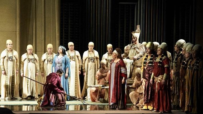 G. Verdi: Aida, Viedenská štátna opera, foto: Michael Pöhn