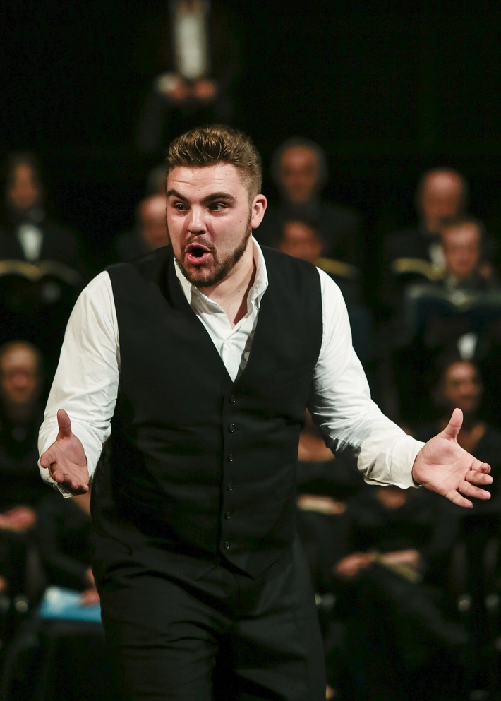 H. Berlioz: Faustovo prekliatie, SND, 2016, Boris Prýgl (Brander), foto: Ctibor Bachratý