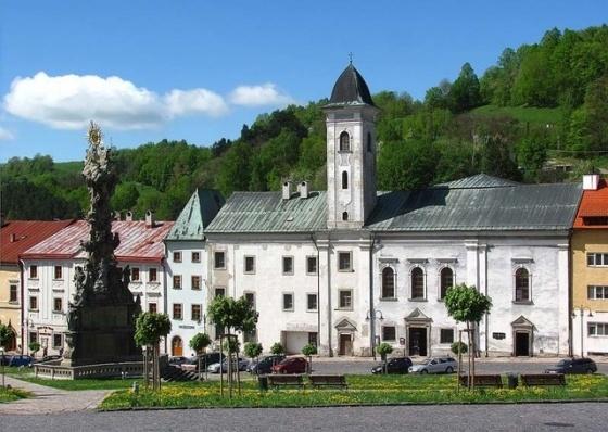 Kremnický kostol a kláštor františkánov v súčasnosti