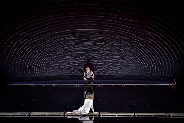L. Janáček: Káťa Kabanová, Národní divadlo Brno, 2016, Pavla Vykopalová (Káťa), Magnus Vigilius (Boris Grigorjevič), foto: Marek Olbrzymek
