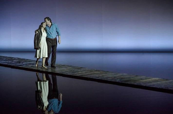 L. Janáček: Káťa Kabanová, Národní divadlo Brno, 2016, Pavla Vykopalová (Káťa), Magnus Vigilius (Boris), foto: Marek Olbrzymek