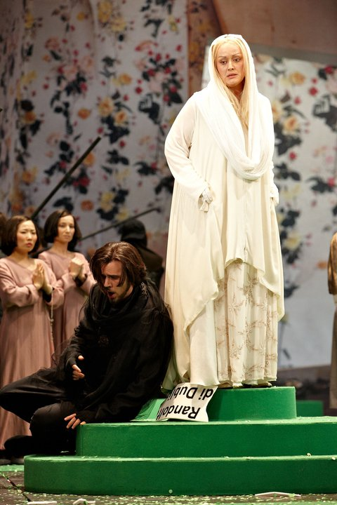 P. Mascagni: Isabeau, Staatstheater Braunschweig, Mária Porubčinová (Isabeau), foto: Karl-Bernd Karwasz