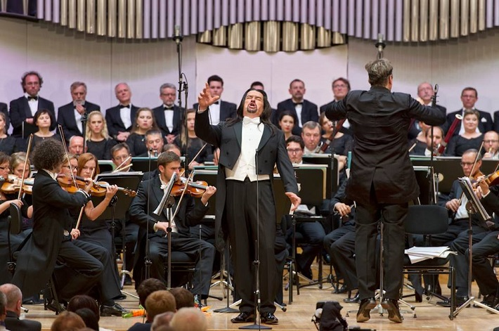 Tutto Verdi, koncert agentúry Kapos, 2016, Dalibor Jenis, Peter Feranec, Slovenská filharmónia, spev. zbor Lúčnica, foto: © PANER