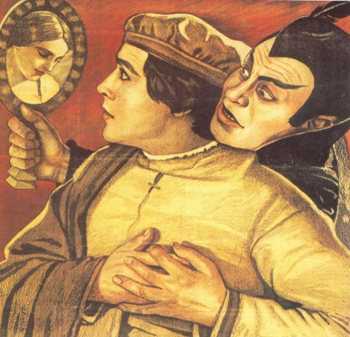 ilustrácia faustovskej témy