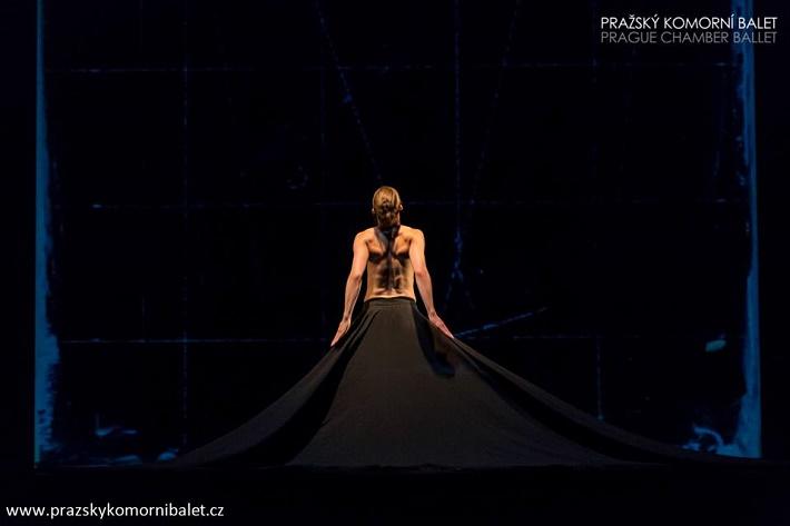 3 České kvartety, Čierne zrkadlo, Pražský komorný balet, foto: Martin Macoun