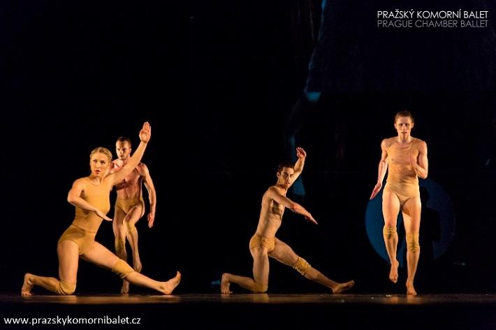 3 České kvartety, Pražský komorný balet, foto: Martin Macoun