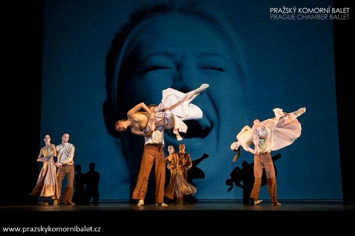 3 České kvartety, Slovanský kvartet, Pražský komorný balet, foto: Martin Macoun