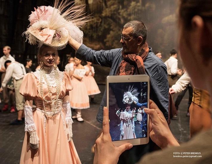 A. Ch. Adam: Giselle, Balet SND, 2016, fotografia z prípravy premiéry, foto: Peter Brenkus