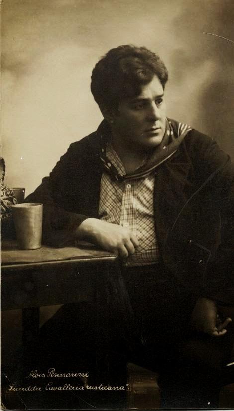 Alois Pennarini, tenor, člen Raulovej spoločnosti 1893 – 1895, foto: greatestoperasingers.blogspot.sk