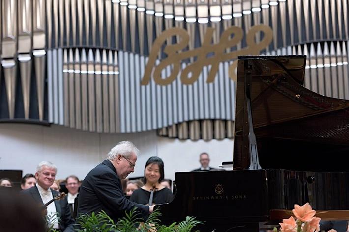 Bratislavské hudobné slávnosti 2016, Emanuel Ax, Royal Concertgebouworchestra Amsterdam, foto: Ján Lukáš