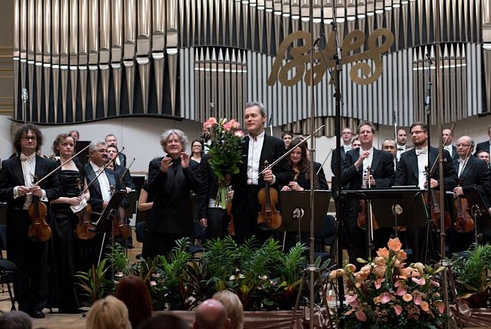 Bratislavské hudobné slávnosti 2016, otvárací koncert, James Judd, Vadim Repin, Slovenská filharmónia, foto: Ján Lukáš