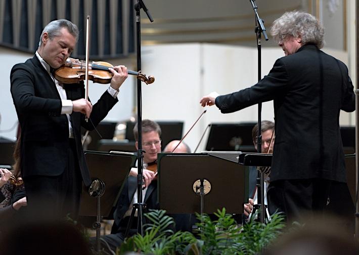 Bratislavské hudobné slávnosti 2016, otvárací koncert, Vadim Repin, James Judd, foto: Ján Lukáš