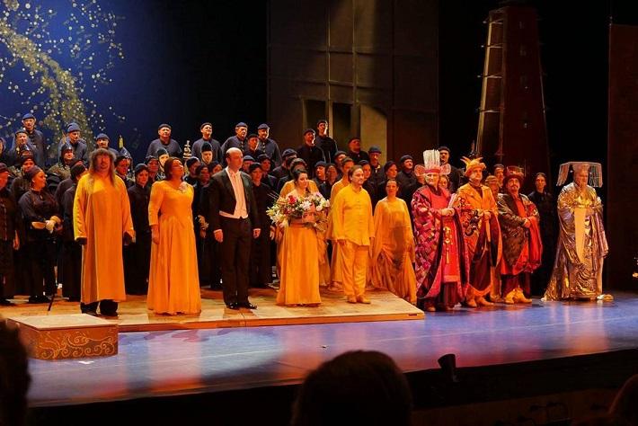 G. Puccini: Turandot, Opera SND, 2016, klaňačka po predstavení, foto: Alena Klenková