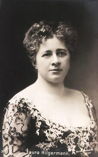 Laura Hilgermann, altistka, hosťujúca umelkyňa Relleho spoločnosti 1899 – 1900, foto: wikipedia