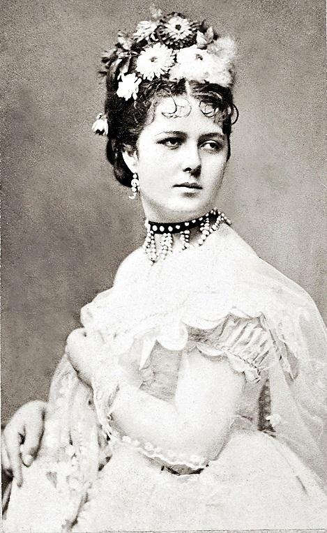 Lujza Blaha, speváčka a herečka, pohostinsky vystupovala v roku 1899, foto: interrelo.com