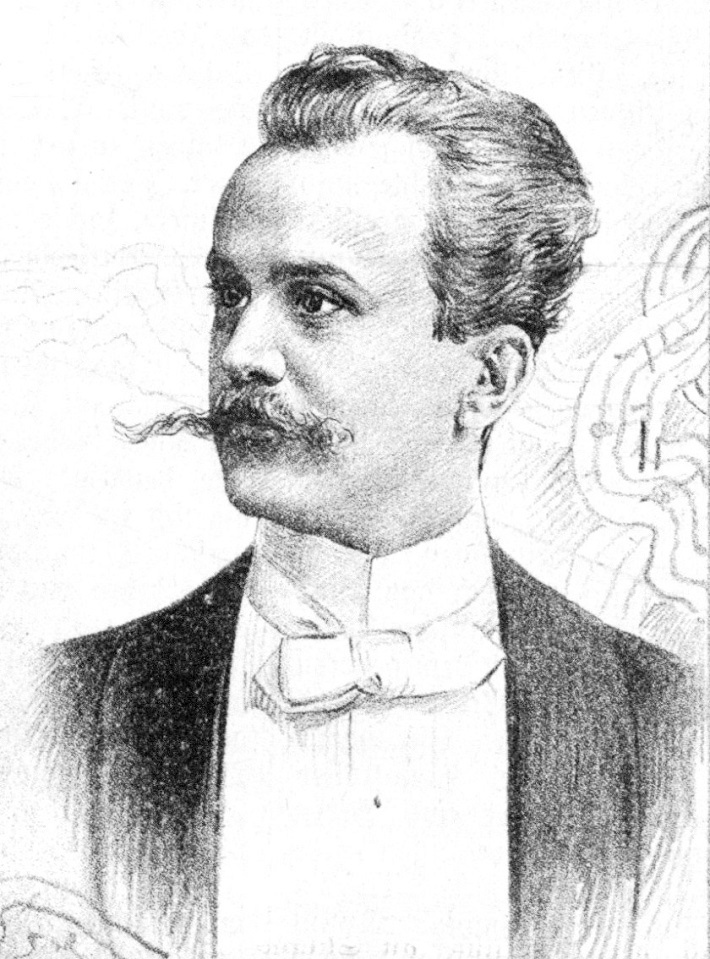 Otto Findeisen, dirigent Raulovej spoločnosti 1891 – 1892, foto: wikipedia