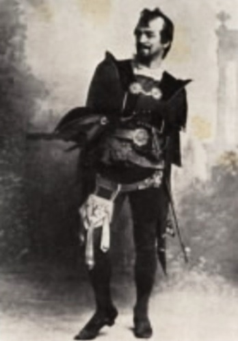 Vilém Heš (tiež Wilhem Hesch), bas, hosť Raulovej spoločnosti, 1898, foto: operasingers.sweb.cz