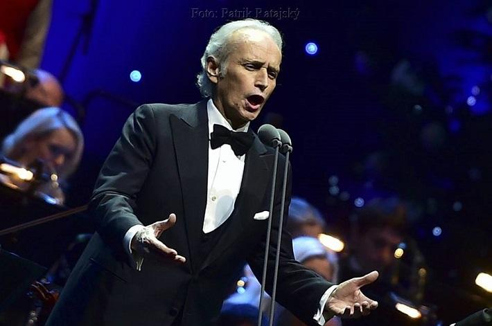 A Life in Music Tour José Carrerasa, Bratislava, 2016, José Carreras, foto: Patrik Ratajský