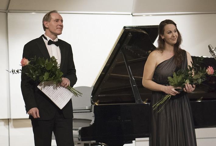 Bratislavské hudobné slávnosti, 2016, Peter Pažický, Eva Šušková, foto: Alexander Trizuljak