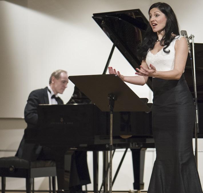 Bratislavské hudobné slávnosti, 2016, Peter Pažický, Helena Becse Szabó, foto: Alexander Trizuljak