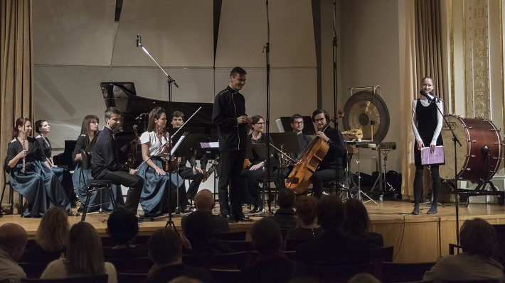 Bratislavské hudobné slávnosti, 2016, Quasars Ensemble, foto: Alexander Trizuljak