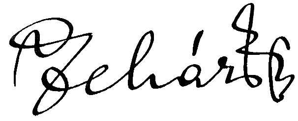 Franz Lehár, podpis