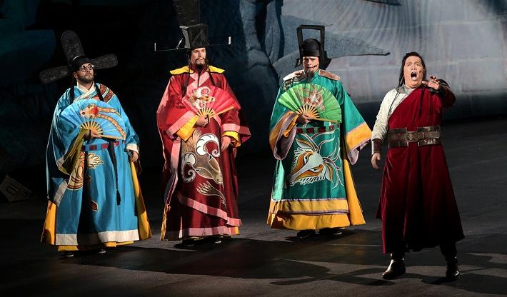 G. Puccini: Turandot, Handa opera v prístave v Sydney