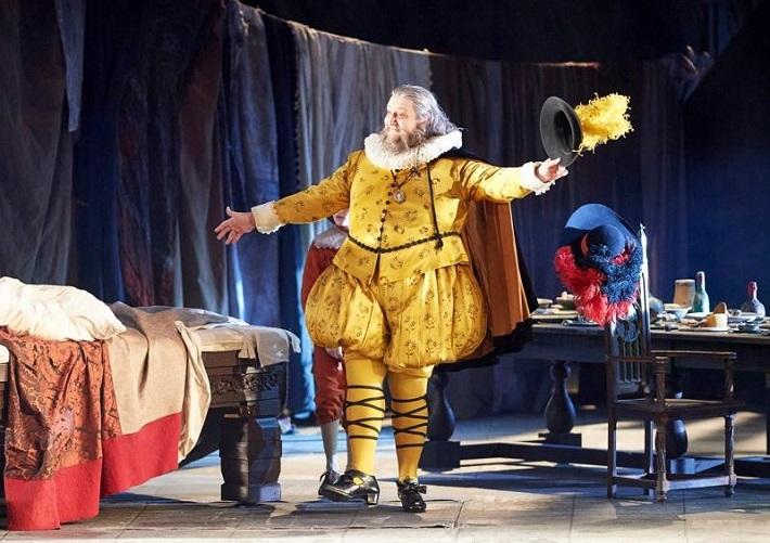 G. Verdi: Falstaff, Viedenská štátna opera, 2016, Ambrogio Maestri (Falstaff), foto: Michael Pöhn