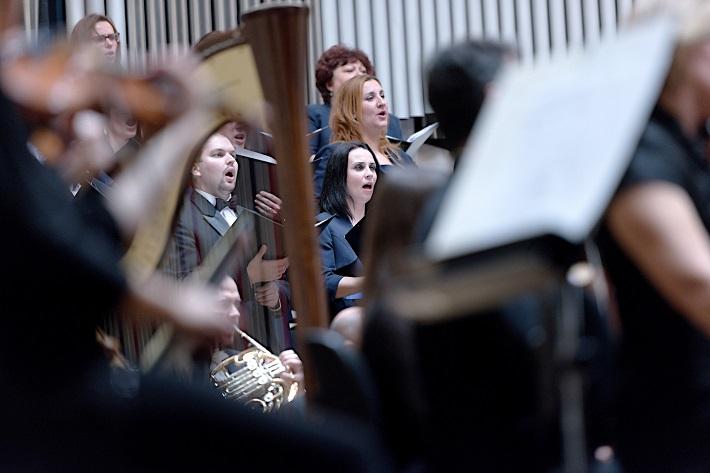 Koncert Slovenskej filharmónie, 2016, Slovenský filharmonický zbor, foto: Ján Lukáš