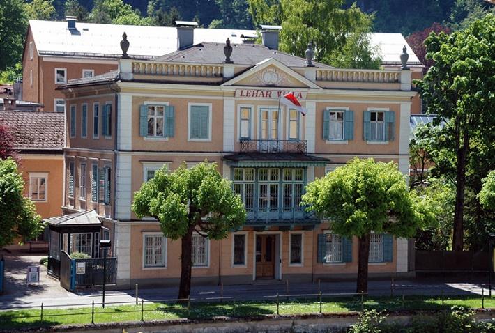 Lehárov dom v Bad Ischl, dnes Lehárove múzeum.