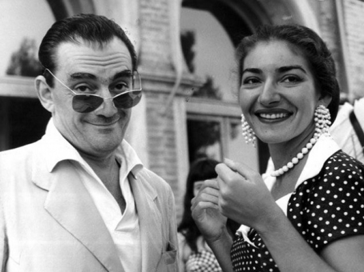 Luchino Visconti, Maria Callas
