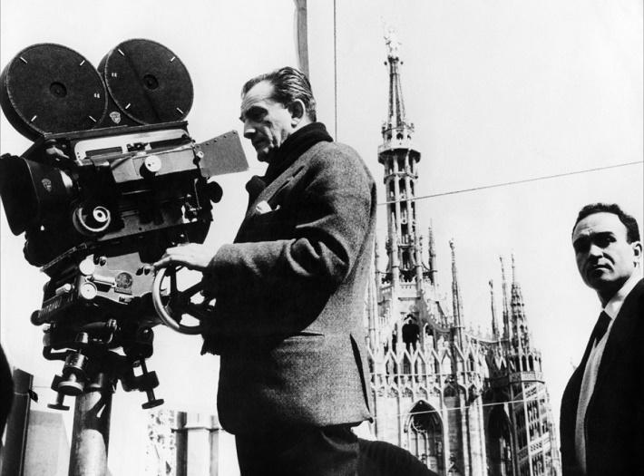 Luchino Visconti pri natáčaní