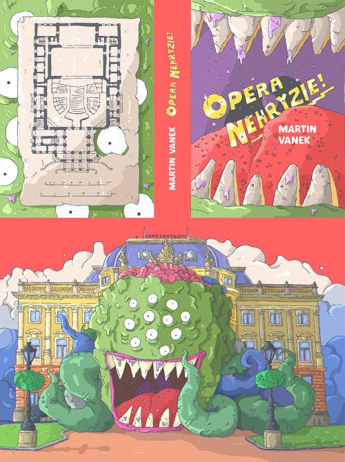Martin Vanek: Opera nehryzie!, náhľad knihy