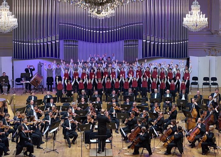 Rastislav Štúr, Slovenská filharmónia, Bratislavský chlapčenský zbor, foto: Ján Lukáš