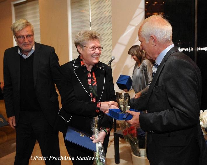 odovzdávanie Ceny Literárneho fondu, 2016, Magdaléna Hajóssyová, foto: Peter Procházka