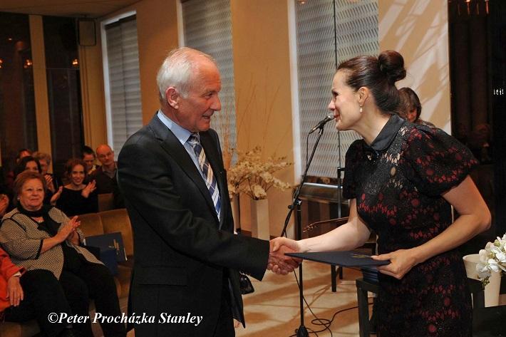 odovzdávanie Ceny Literárneho fondu, 2016, Monika Fabianová, foto: Peter Procházka