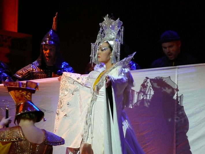 G. Puccini: Turandot, Opera SND, Maida Hundeling (Turandot), foto: Alena Klenková