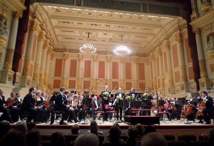 Hudobná izba na javisku Semperovej opery v Drážďanoch, foto: Joachim Schindler