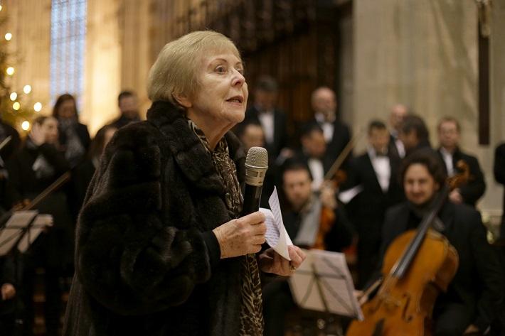 Koncert Adoremus a Warchalovci, Katedrála sv. Martina v Bratislave, 2016, Terézia Ursínyová, foto: Branislav Valko
