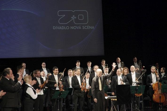 Koncert pri príležitosti 70. výročia založenia Divadla Nová scéna, 2016, Zdeněk Macháček, Symfonický orchester Slovenského rozhlasu, foto: Ivan Medveď