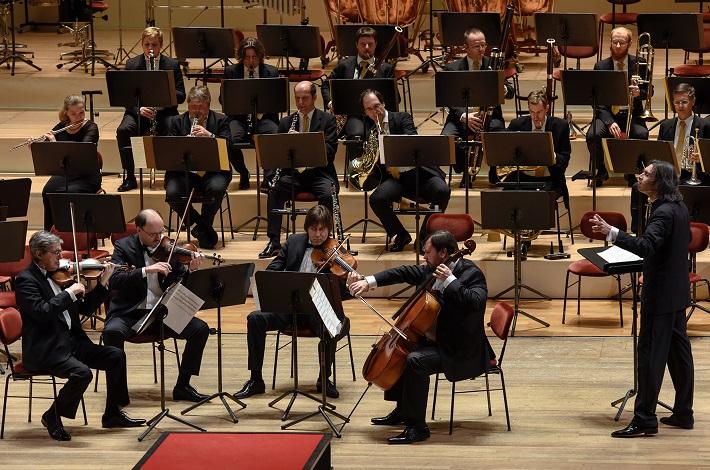 Koncert v Semperovej opere v Drážďanoch, 2016, Borodinove kvarteto, Vladimir Jurowski, Sächsische Staatskapelle Dresden, foto: Matthias Creutziger