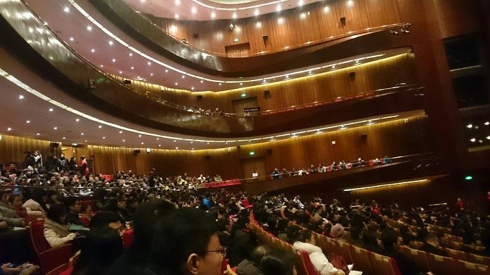 Koncertné turné orchestra Štátnej filharmónie Košice v Číne, 2016/2017, Yixin sála, foto: Archív ŠfK