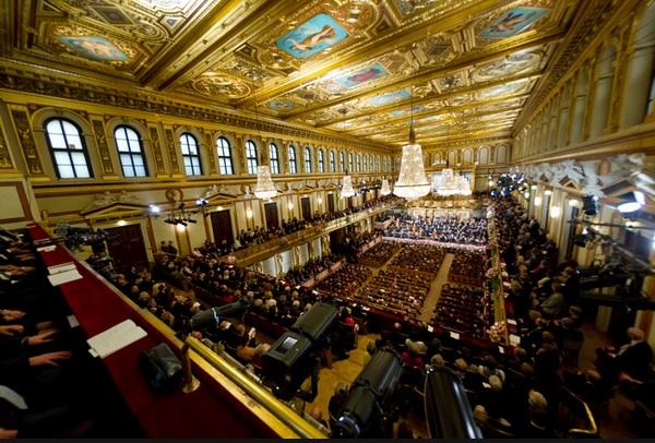Novoročný koncert Viedenských filharmonikov, foto: Richard Schuster