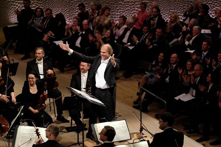 Otvárací koncert Elbphilharmonie Hamburg, 2016, Thomas Hengelbrock, NDR Elbphilharmonie Orchester, foto: Michael Zapf